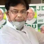 बिहार के शिक्षा मंत्री मेवालाल चौधरी का पदभार ग्रहण करने के ढाई घंटे के अंदर ही इस्तीफा
